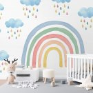 tapeta z tęczą room rainbow