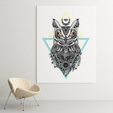 ART OWL - Modny obraz na ścianę