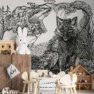 tapeta z wilkiem lonely wolf