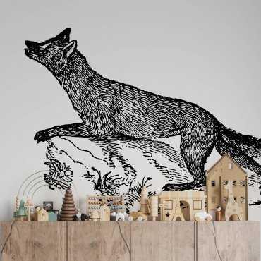 tapeta z lisem smart fox