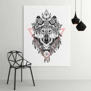 ART WOLF - Modny obraz na ścianę