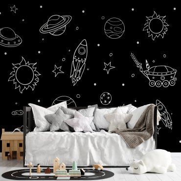 tapeta ścienna space fantasy