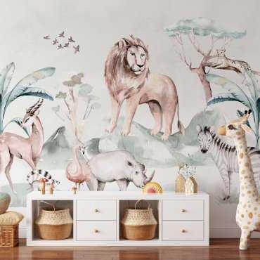 tapeta ścienna safari kingdom