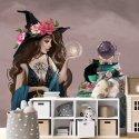 tapeta ścienna lady witch
