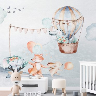 tapeta dziecięca party balloon