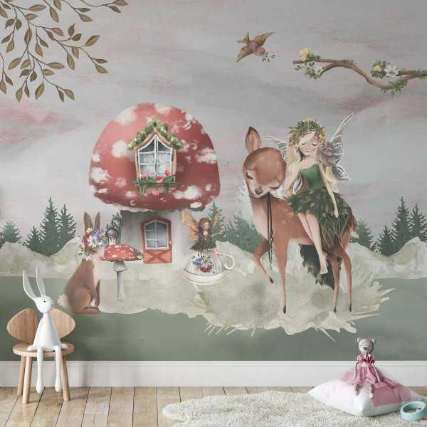 woodland princess tapeta