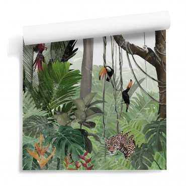 home jungle tapeta tropikalna