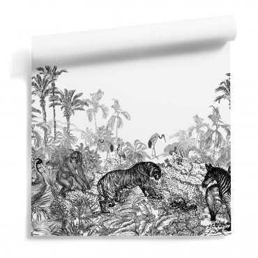 tapeta tropikalna story of the jungle