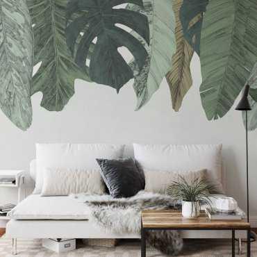Tapeta ścienna liście sky of plants