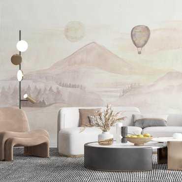 tapeta creamy landscape