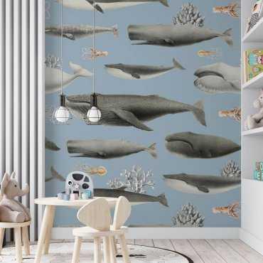 tapeta dziecięca lovely oceania