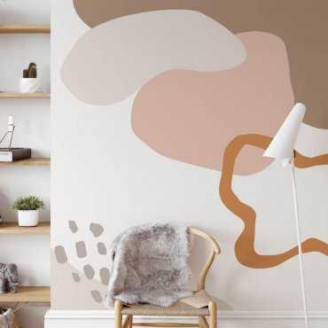 abstract mixart tapeta