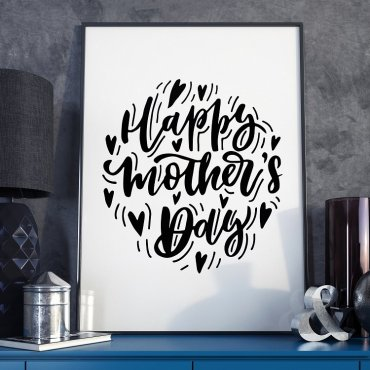 Happy Mother's Day - Plakat dla Mamy