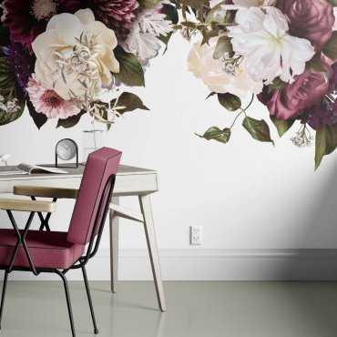 tapeta kwiaty purple flora