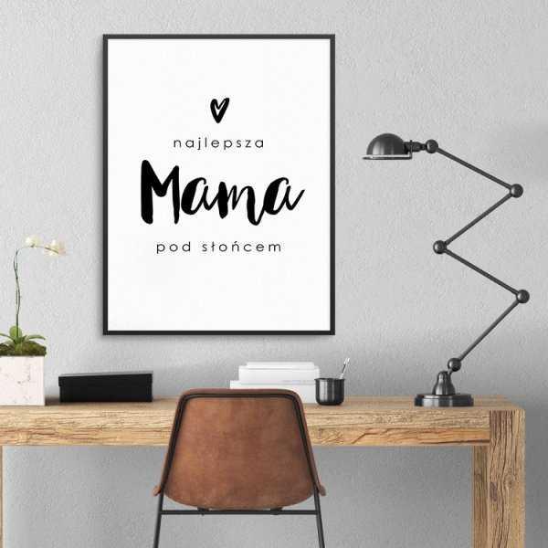 Najlepsza mama pod słońcem - Plakat dla Mamy