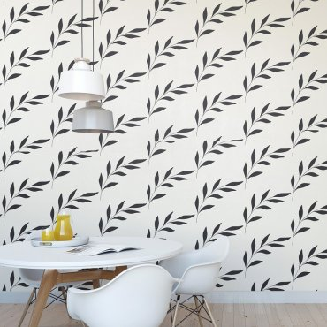FLORAL ART - Tapeta na ścianę
