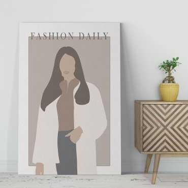 płótno obraz fashion daily