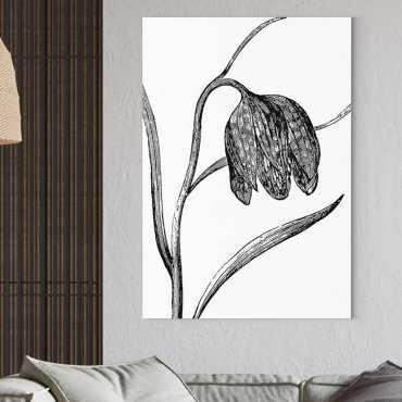 floral minimalism obraz