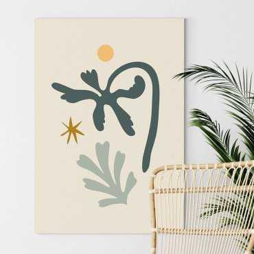 line art composition obraz