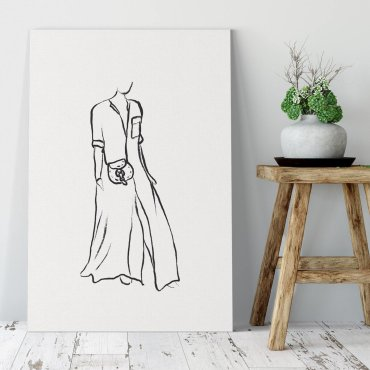 long dress obraz