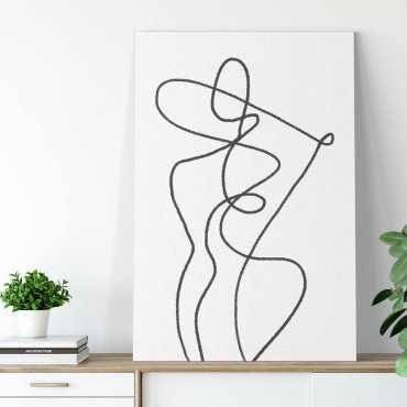 stylish shape obraz na płótnie