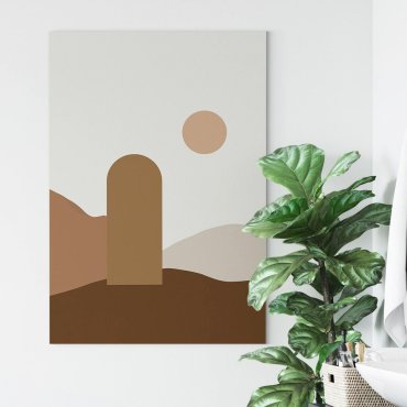 obraz canvas na płótnie sunset portal