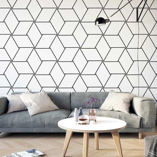 MODERN SHAPES - Tapeta na ścianę