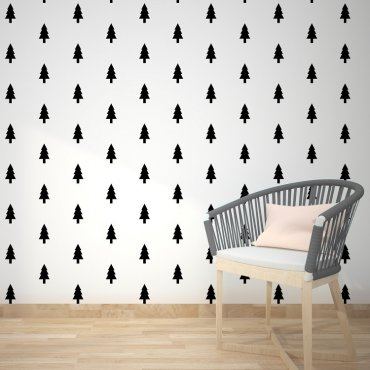 SCANDINAVIAN TREE - Tapeta na ścianę
