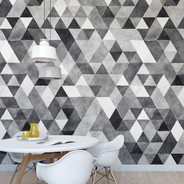 SILVER ART - Tapeta na ścianę