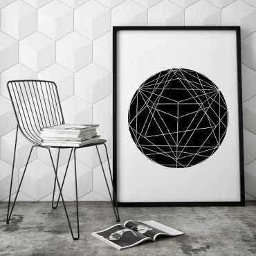 GEOMETRYCZNY DESIGN - Plakat designerski