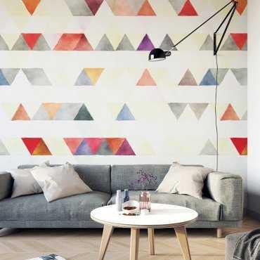 TRIANGLE LEVELS - Tapeta na ścianę