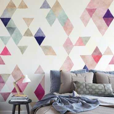 TRIANGLE SUNRISE - Tapeta na ścianę
