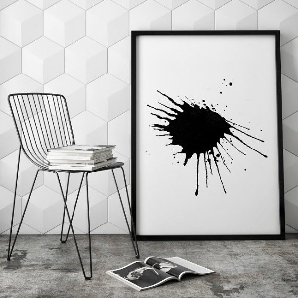 KLEKS - Plakat designerski