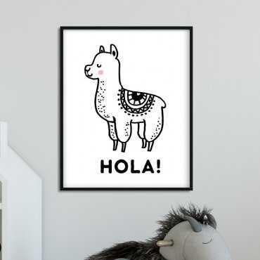 HOLA! - Plakat dla dzieci