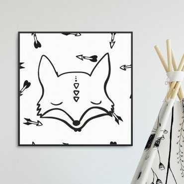 FOXY ARROWS - Plakat dla dzieci