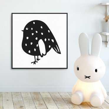 LITTLE BIRD - Plakat dla dzieci