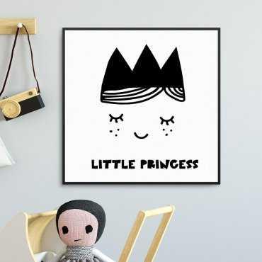 LITTLE PRINCESS - Plakat dla dzieci