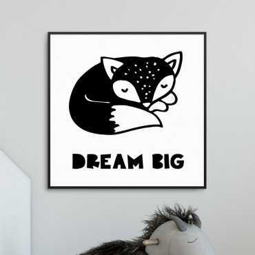 FOXY DREAM - Plakat dla dzieci
