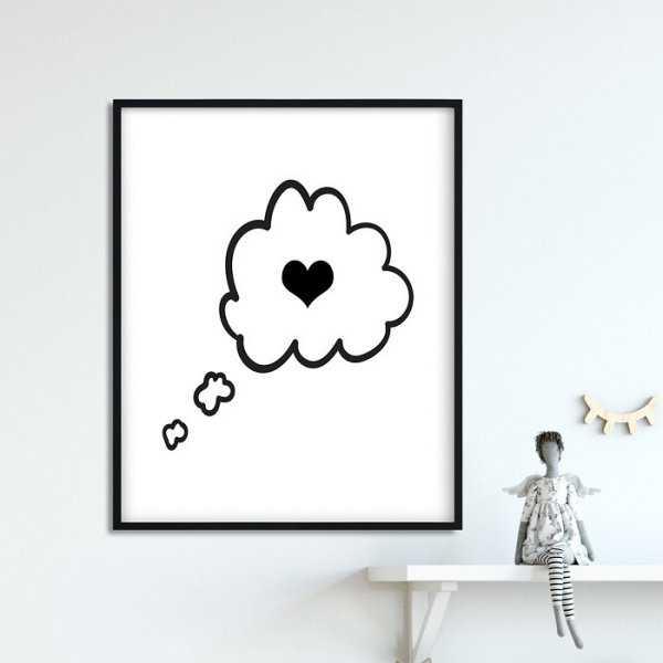 LOVELY DREAM - Plakat dla dzieci