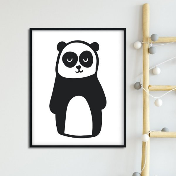 MR. PANDA - Plakat dla dzieci
