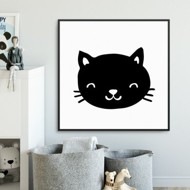 KITTY - Plakat dla dzieci