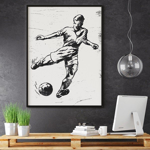 FOOTBALL - Plakat designerski