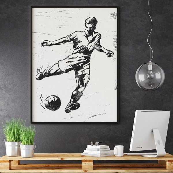 FOOTBALL - Plakat designerski