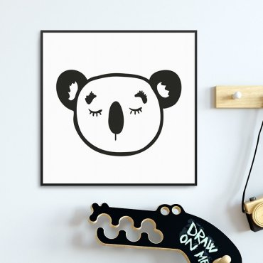 LITTLE KOALA - Plakat dla dzieci