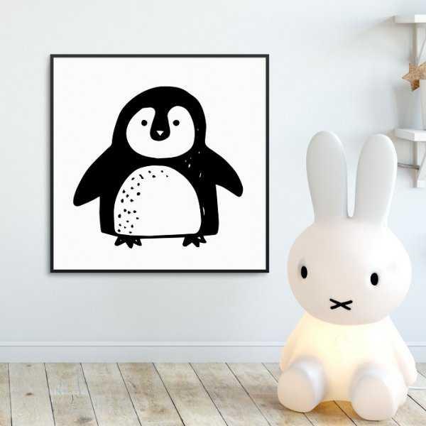 SWEET PINGUIN - Plakat dla dzieci