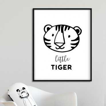 LITTLE TIGER - Plakat dla dzieci