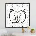 TRIANGLE BEAR - Plakat dla dzieci