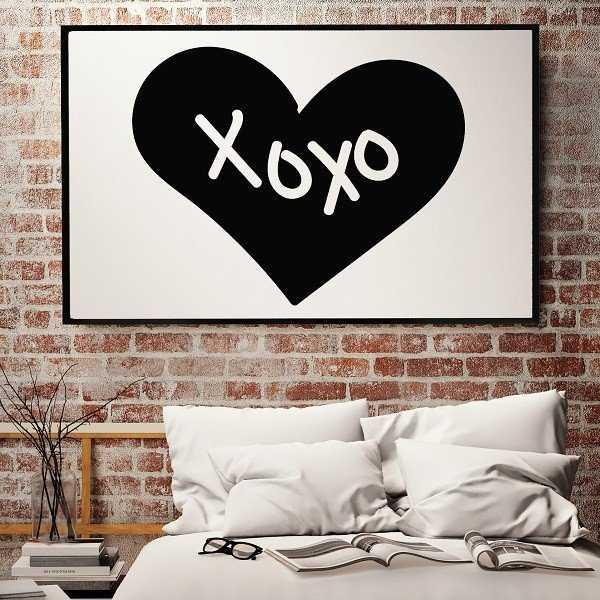 XOXO - Plakat designerski