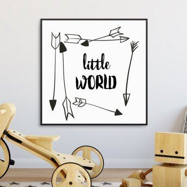 LITTLE WORLD - Plakat dla dzieci