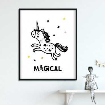 MAGICAL - Plakat dla dzieci